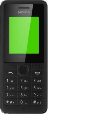 Nokia 106 er billig og enkel, og har ekstremt god batteritid.