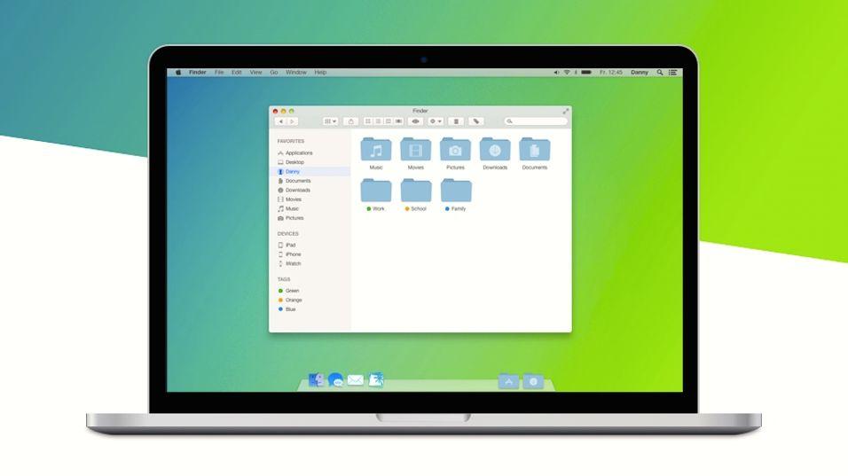Vil Apples nye Mac OS X se slik ut?