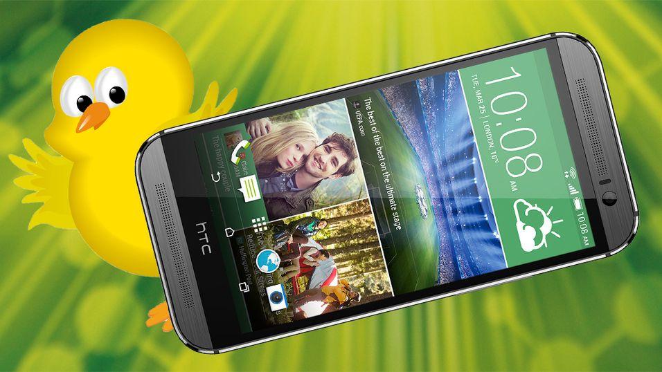 Sjekk om du vant en HTC One(M8)
