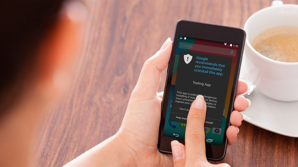 Android får innebygget antivirus