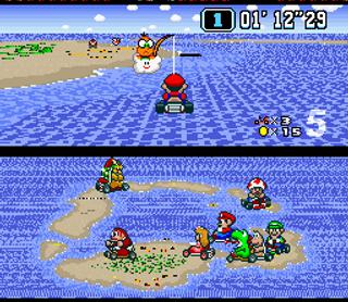 Super Mario Kart bilde4.