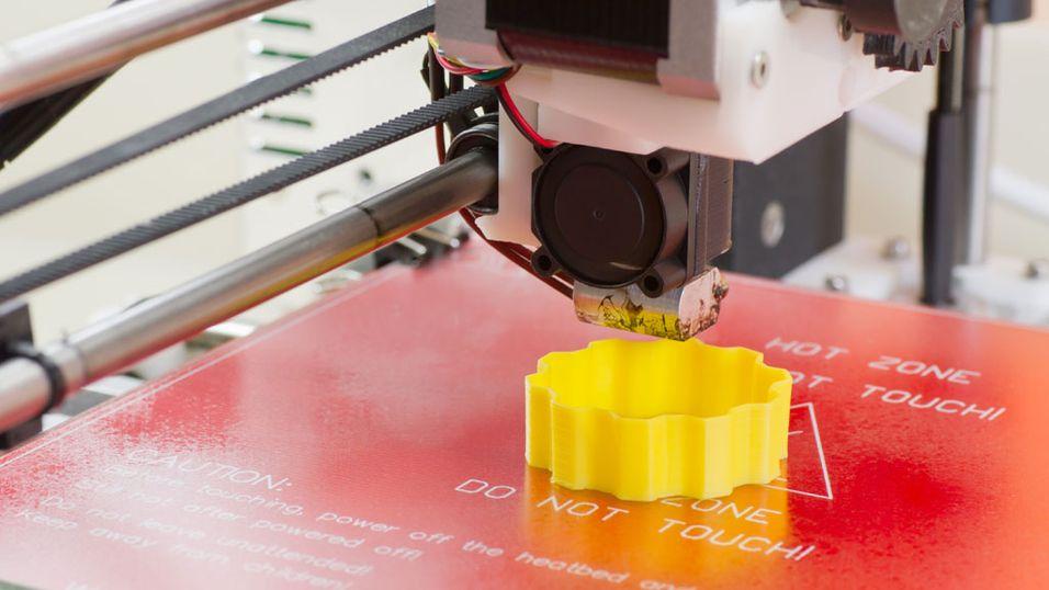 Staples tester ut 3D-printer i butikk