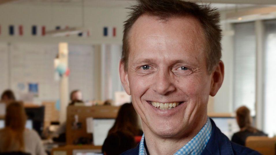 Chess-sjef Arve Andreassen kan juble over å være best i teleklassen på Norsk kundebarometer.