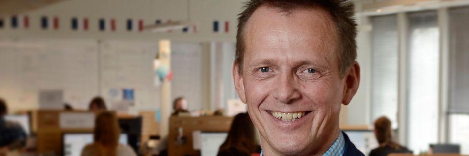 Chess-sjef Arve Andreassen vil ha flere storkunder som kan være med og løfte gjennomsnittsinntekten per kunde per måned.