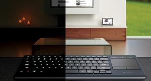 Dette TV-tastaturet kan du bruke i mørket