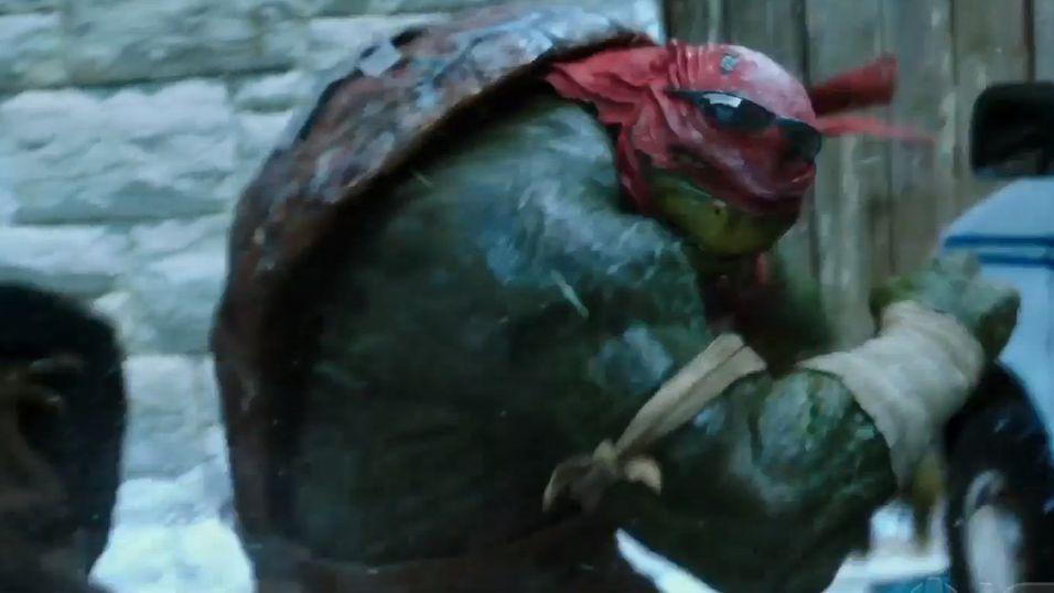 Spent på den nye Turtles-filmen?