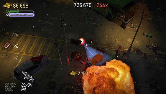 Kule karer ser visst på eksplosjoner likevel (PlayStation Vita).