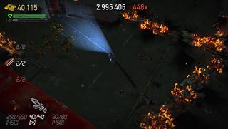 «Det brenner! Ring brannves... Å, dere er her allerede.» (PlayStation Vita).