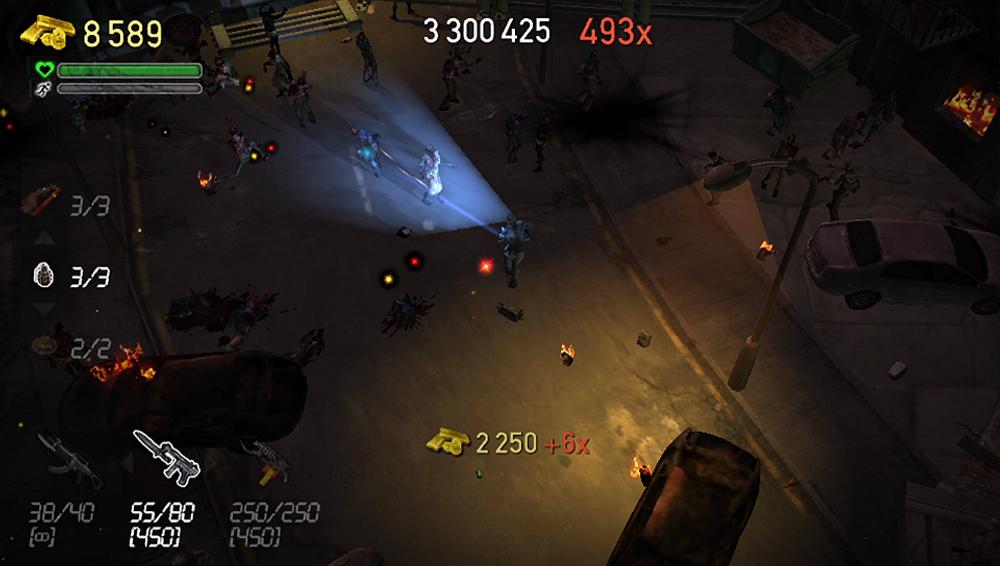 Døde zombier gir fra seg penger og poeng - de er greie sånn sett (PlayStation Vita).