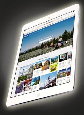 Slik ser dagens iPad Air ut. Ikke så ulikt?