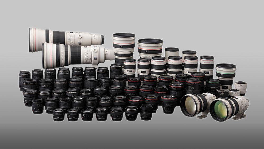 Det kan bli mye å velge i for en stakkars fotograf