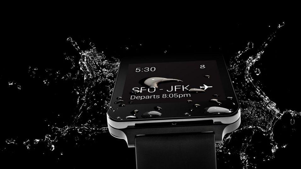 Nå er LGs første Android Wear-klokke lansert