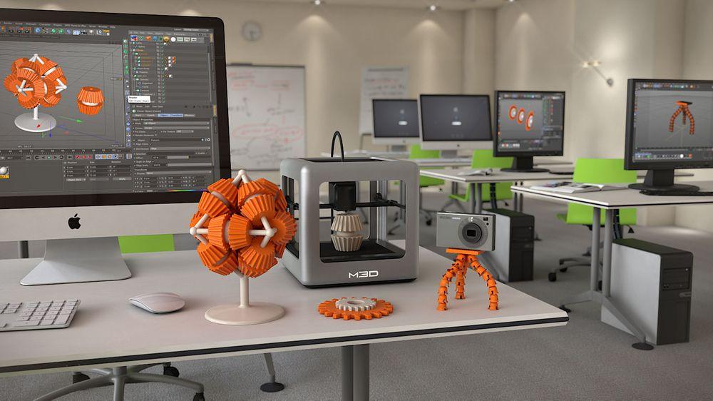 Nå får alle råd til å ha en 3D-skriver hjemme