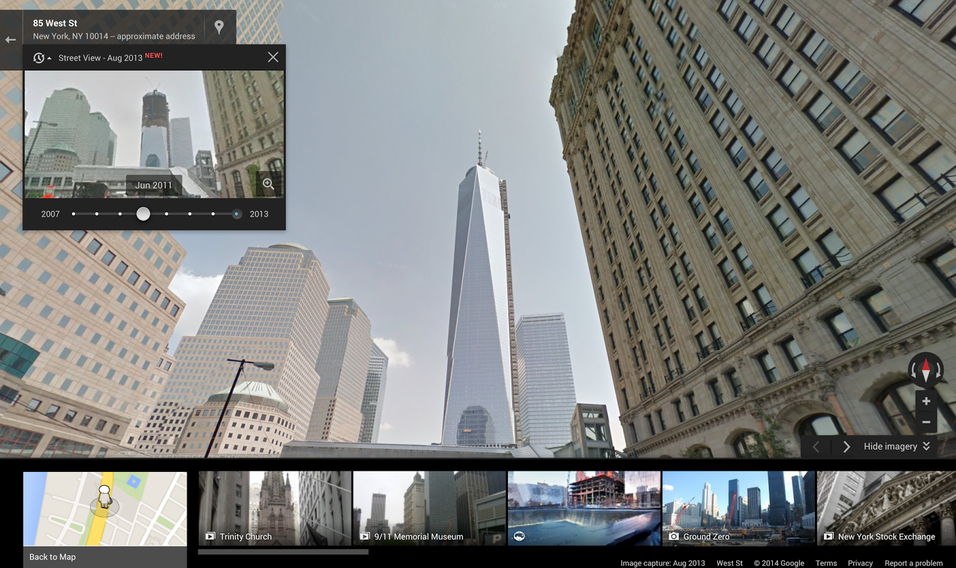 Nå kan du reise tilbake i tid med Googles karttjeneste