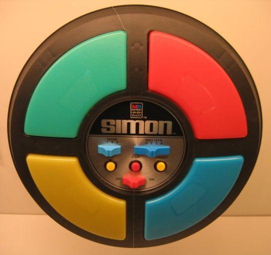 Selv om det neppe kan kategoriseres som et musikkspill lot hermespillet Simon spilleren spille enkle melodier.