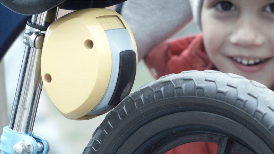 Ny dings fjernbremser barnesykkelen