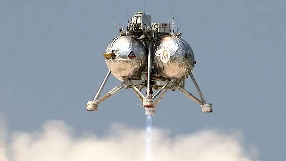 Her tester NASA sitt nye romskip