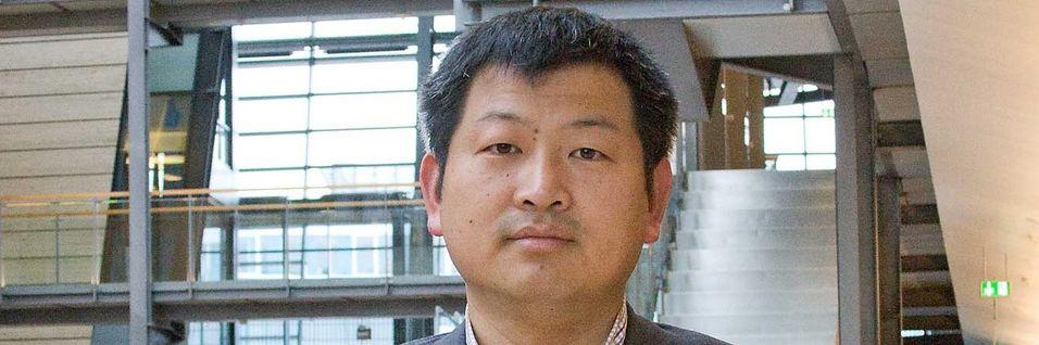 Dr. Yuefeng (Peter) Zhou leder Huaweis vadeling for småceller og wifi og har nylig vært i Norge for å drøfte området med Telenor.