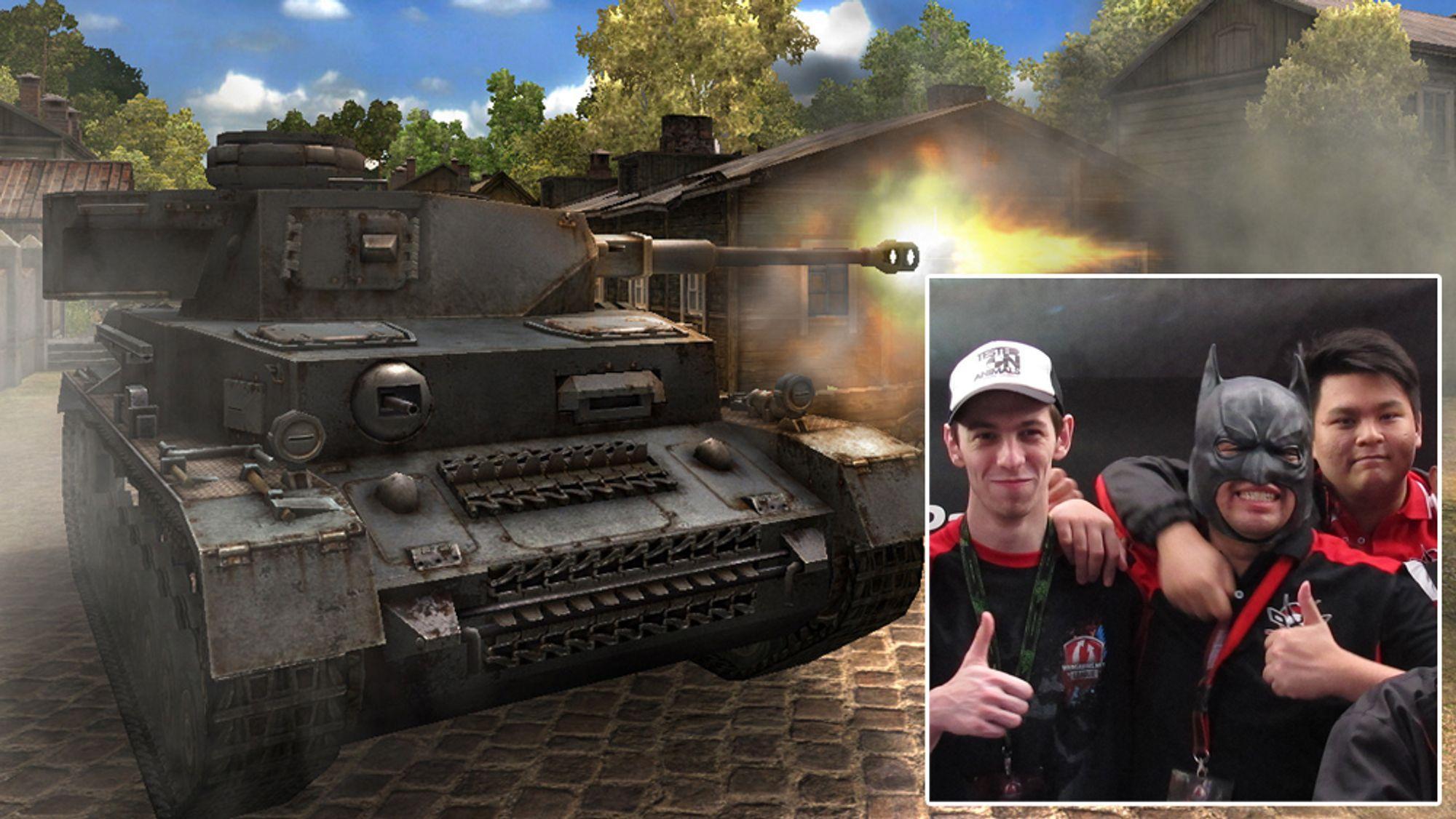 INTERVJU: Fra underdogs til helter i World of Tanks-VM