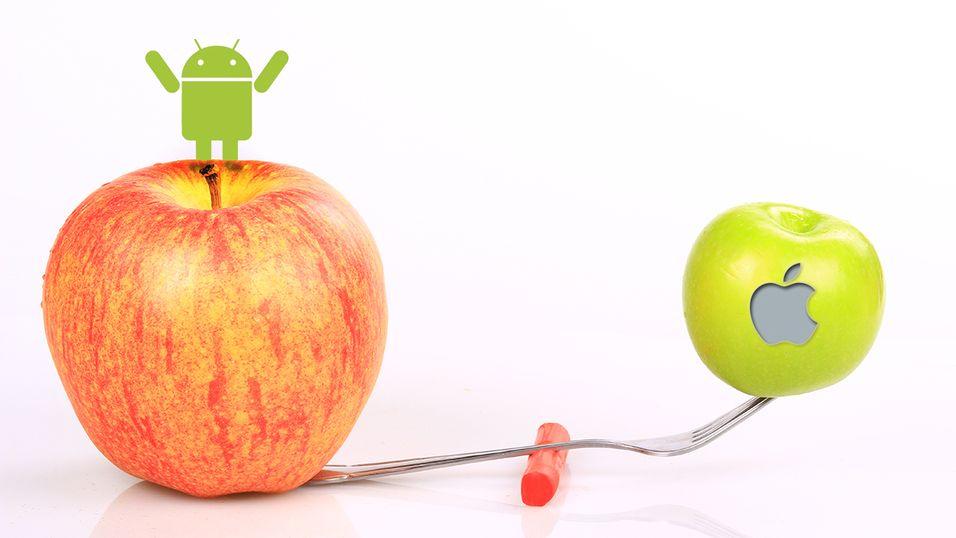 Android knuser iOS på hjemmebane