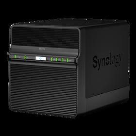 Synology DiskStation DS414j er nesten litt retro i stilen.