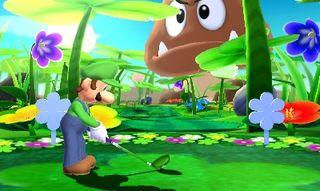 Ingen kan komme her og si at omgivelsene i Mario Golf: World Tour ikke er fargerike og kreative.