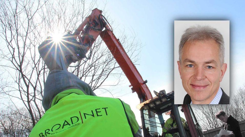 Teknologidirektør Per Morten Torvildsen i Broadnet er igang med en omfattende modernisering av nettverket, både i kjerne og i det kobber- og fiberbaserte aksessnettet.