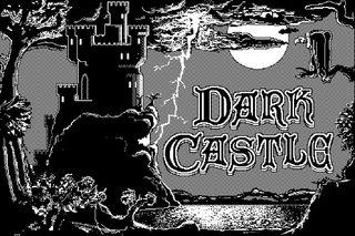 Tittelskjermbildet til DarkCastle.