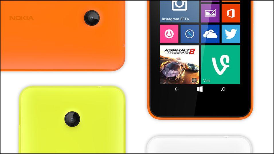 Nokia med råbillig firekjerners mobil