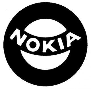 Slik så Nokia-logoen ut i 1965.