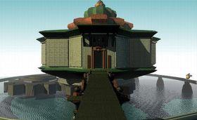3D-modellerte miljøer.