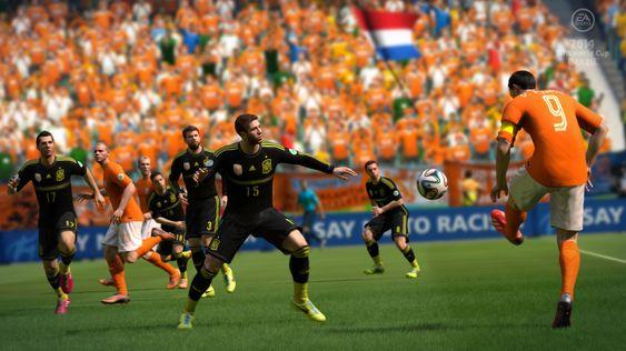 2014 Fifa World Cup Brazil føles ikke like solid som moderspillet FIFA 14.