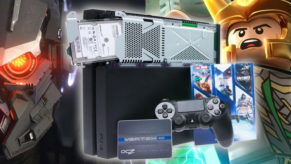 Er det verdt å skifte  ut PlayStation 4 sin snurredisk til fordel for en kjapp SSD?