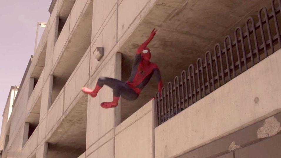 Er dette den «ekte» Spider-Man?