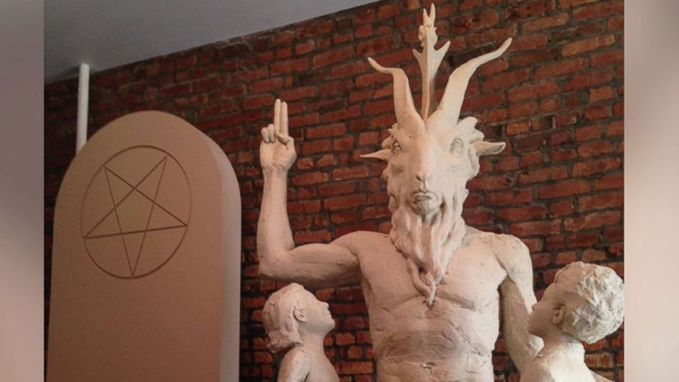 Satanistisk statue kan få plass ved rådhuset