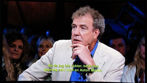 Jeremy Clarkson ser skarpere ut oppskalert.