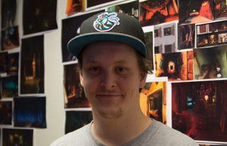 Anders Ugland i Krillbite jobber for tiden med grøsserspillet Among The Sleep.