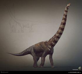 Puertasaurus blir spelets aller største dinosaur.