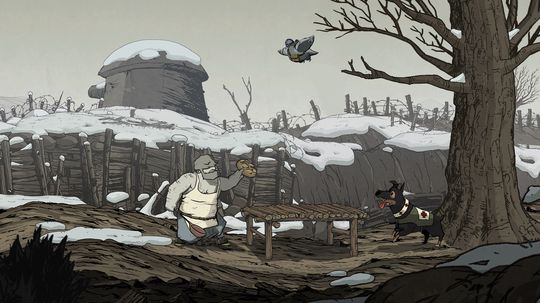 Krigskokken Emile i Valiant Hearts: The Great War.