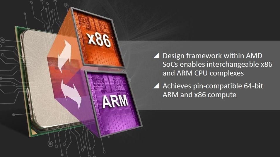 AMD utvikler unik universalløsning