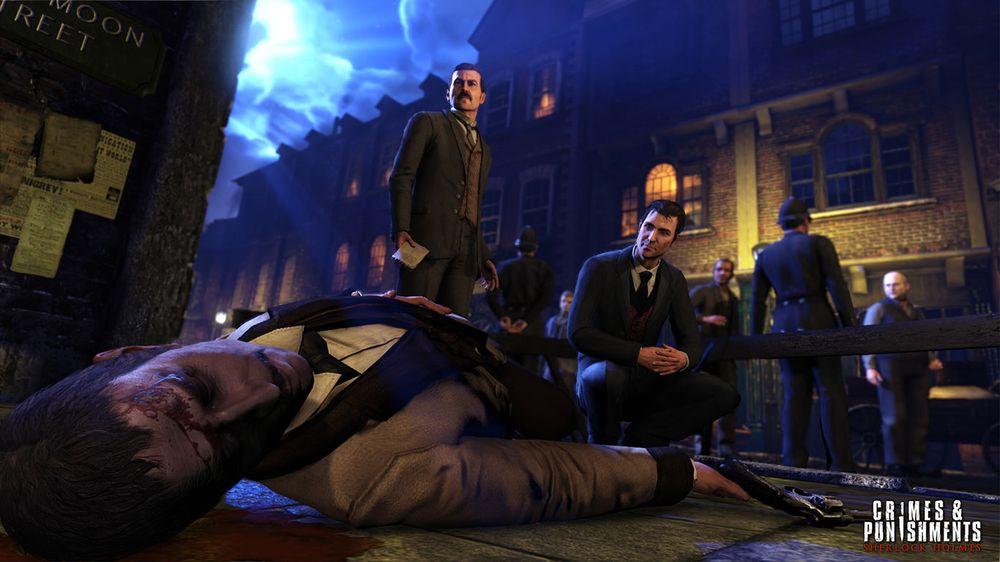 «Nok en død person, Watson. Hva er det som foregår i denne byen?».