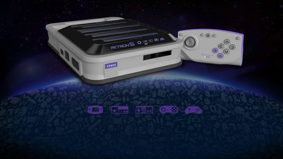 Denne spillmaskinen gir deg alle retro-konsollene i ett