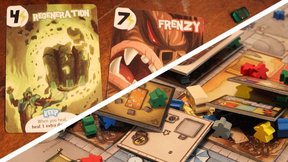 Monsterkamp i brettspillform