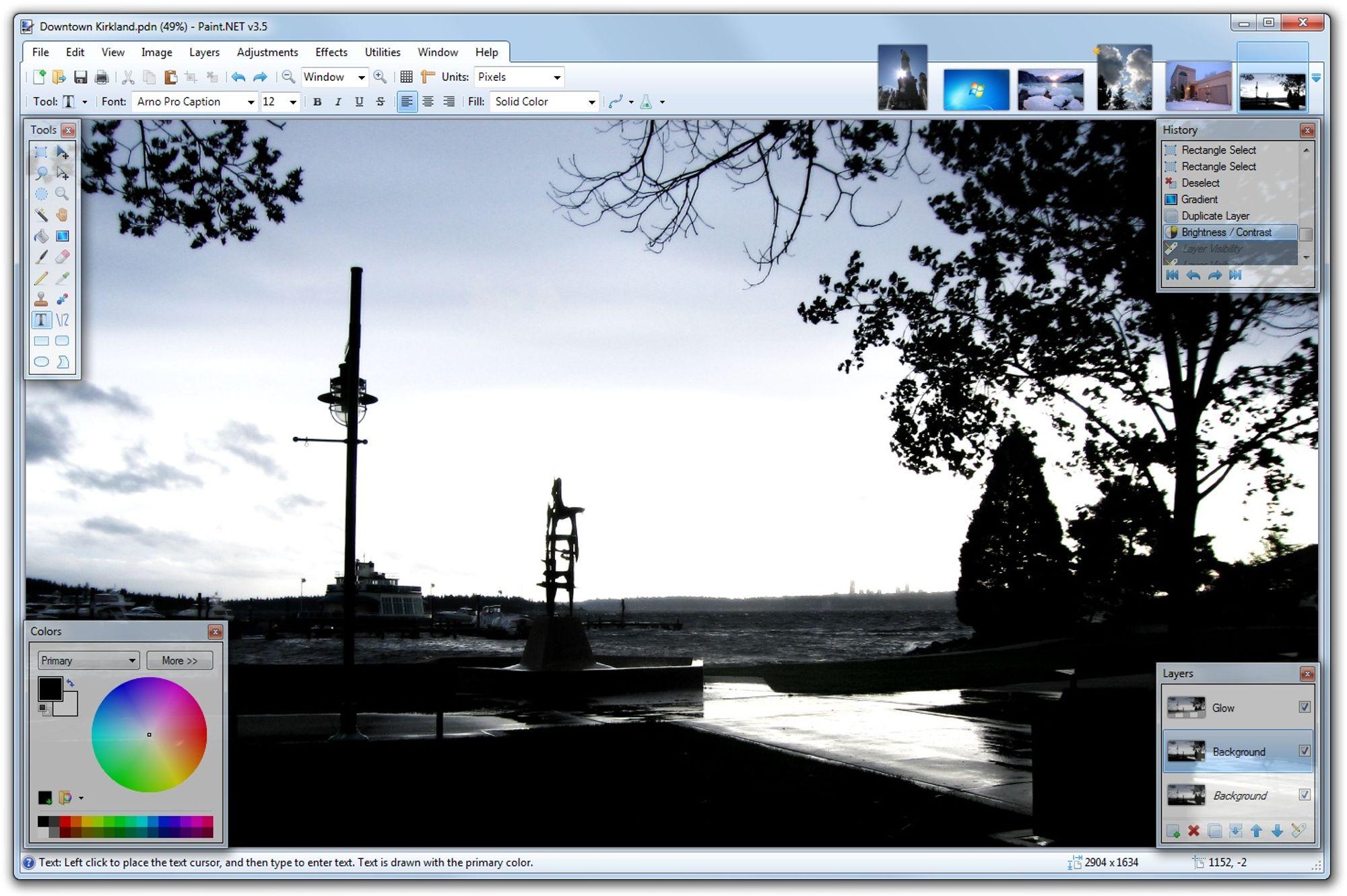 Bilderedigeringsprogram gratis app