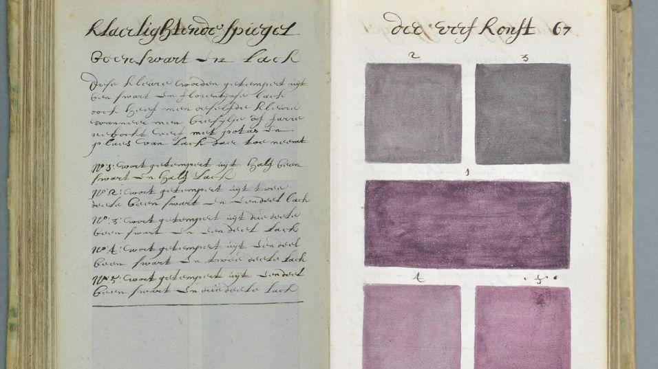 Utrolig bok demonstrerer fargelære anno 1600-tallet