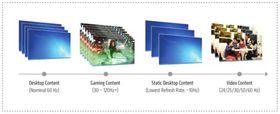 Adaptive-Sync blir en del av DisplayPort 1.2-standarden, og vil støtte automatisk justering av oppdateringshastigheten på skjermen – noe særlig spillere vil dra nytte av.