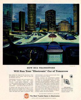 Slik så den originale RCA-annonsen ut.