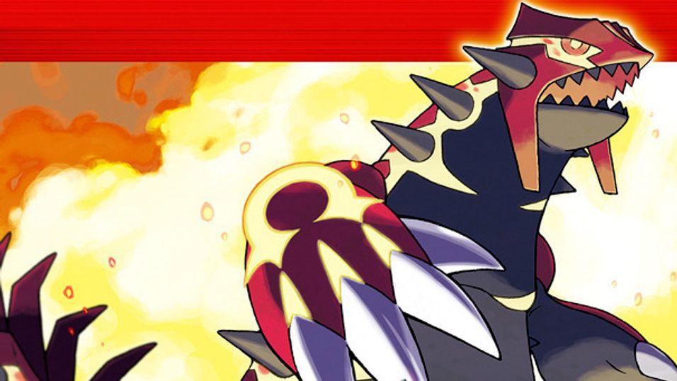 Pokémon Ruby kom ut i 2003.