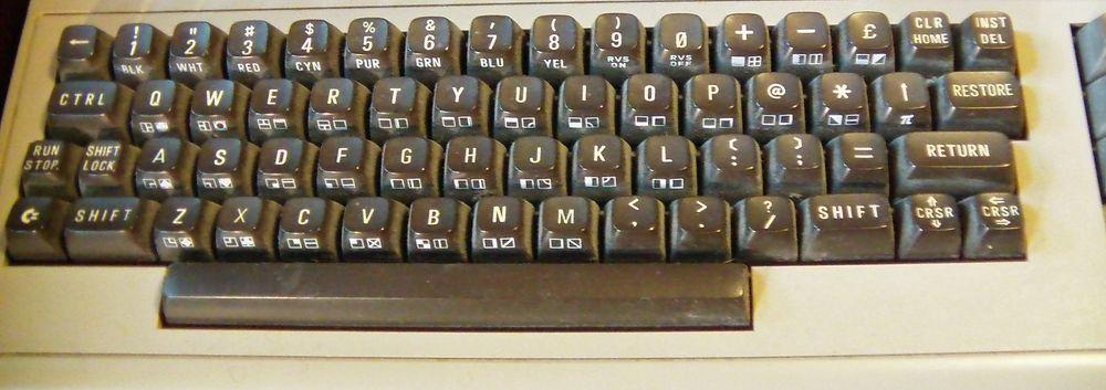 Tastaturet er ikke helt som på PC.
