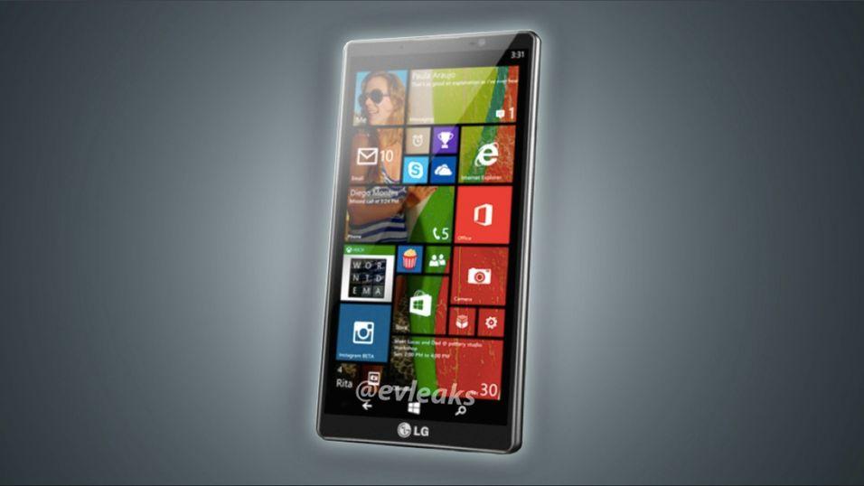 LGs første telefon med Windows Phone 8 er lekket